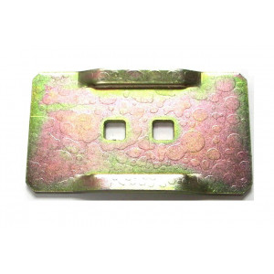 Grattoir métallique de rouleau packer RAU
