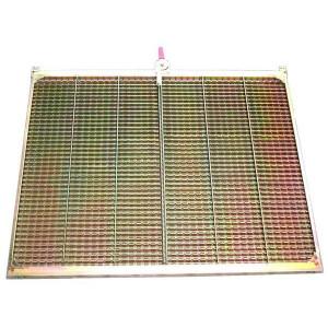 Demi grille supérieure CZ/2 CLAAS 1738x555 mm