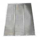 Demi grille inférieure à trous DEUTZ FAHR 1300x603 mm