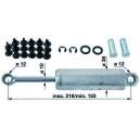 Vérin amortisseur pour suspension verticale GRAMMER ref 1168282