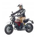 Scrambler Ducati Desert Sled et figurine