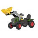 Tracteur Fendt 211 Vario avec chargeur et pneus souples