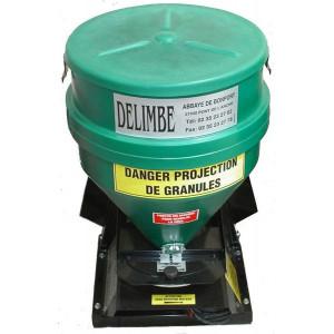 Distributeur Delimbe T24 70L + Option 28M + Option réglage largeur