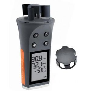 Thermomètre hygromètre anémomètre
