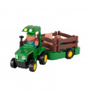 Tracteur pour enfant JOHN DEERE avec remorque