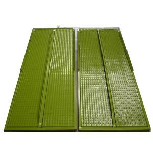 Kit de demi grille inférieure GR/E DEUTZ FAHR 1615x602 mm
