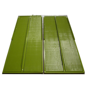 Kit de demi grille supérieure DEUTZ FAHR FENDT MASSEY FERGUSON 1555x722 mm