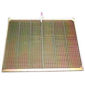 Kit de demi grille inférieure CZ/1 DANIA FENDT MASSEY FERGUSON 1400x807 mm