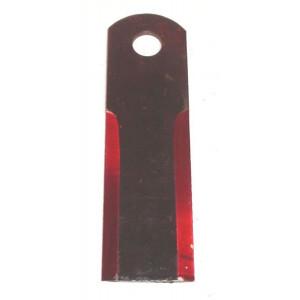 Couteau BISO 173x50x4 Trou 18, 2 faces lisses