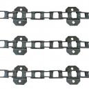 Jeu de 3 chaînes de convoyeur N° 6 FAHR 4065 hts 18eq - 111p
