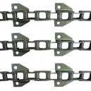 Jeu de 3 chaînes de convoyeur N° 6 FAHR 4060 / 4065 / 4068 / 4075 / 4080 / 4090 montage 4-8