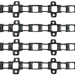 Jeu de 4 chaînes de convoyeur N°11 MF 620 4ch-660-815-845