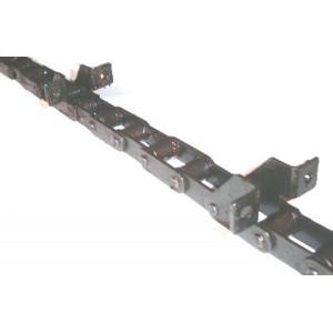 Chaine nue à otons longueur 6m00 39 équerres pour CLAAS MEGA