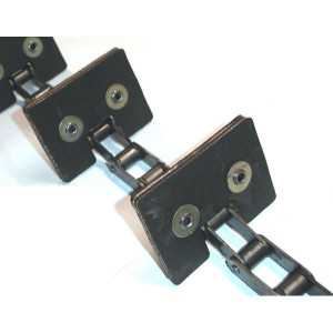 Chaine complète à otons longueur 5m96 24 équerres pour CASE IH