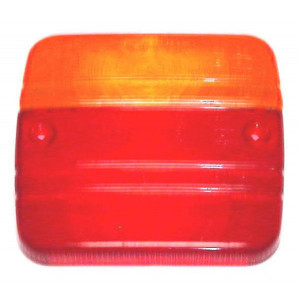 Cabochon Veralux arrière rouge/orange