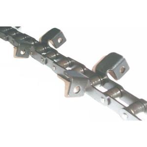 Chaine nue à otons longueur 4m64 28 équerres pour CASE IH