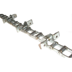 Chaine nue à otons longueur 6m79 41 équerres pour LAVERDA FIAT