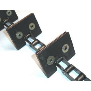 Chaine complète à otons longueur 3m23 14 équerres pour MASSEY FERGUSON DRONINGBORG