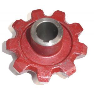 Pignon élévateur Réf 87757253 ( remplace 417785 / 417786 ) NEW HOLLAND 9 dents diamètre 30