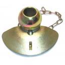 Rotule avec cone de guidage
