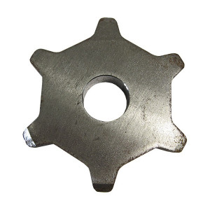 Pignon chaine plate