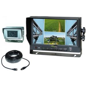 Kit complet caméra de recul 120° + écran 7'' + cable 15M