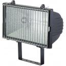 Projecteur halogène 1000/1500W IP54 noir avec grille BRENNENSTUHL