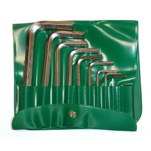 Jeu de clés STAHLWILLE mâles 6 pans de 1.5 à 10 mm