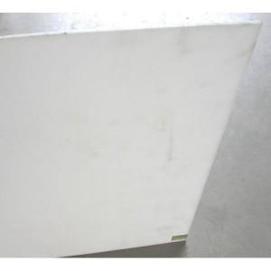 Plaque 1m² plat PE 300 NAT extrude épaisseur 08