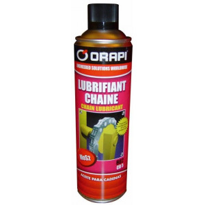 Aérosol lubrifiant chaînes CB5 - 400 ML