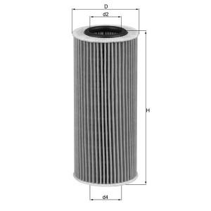 Filtre à huile Mahle OX177/3D ECO