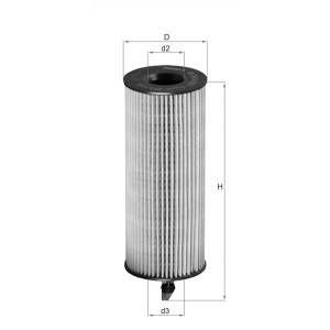 Filtre à huile Mahle OX361/4D ECO